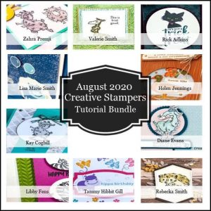 Creative Stampers August Tutorial Bundle
