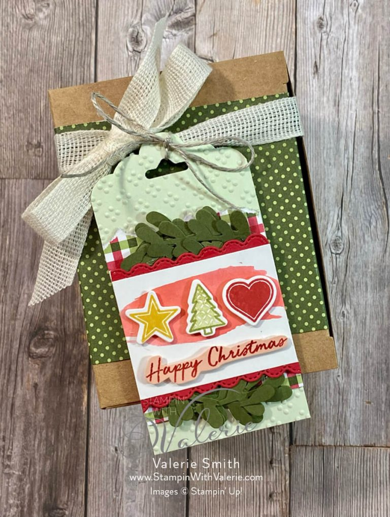 Christmas Tag and box